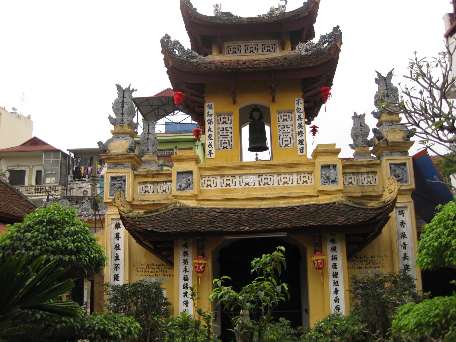 Chùa Bà Ngô (Ngọc Hồ Tự – Đống Đa, Hà Nội)