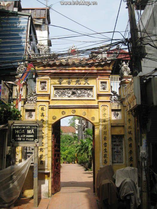 Chùa Hoà Mã (Thiên Quang Tự – Hai Bà Trưng, Hà Nội)