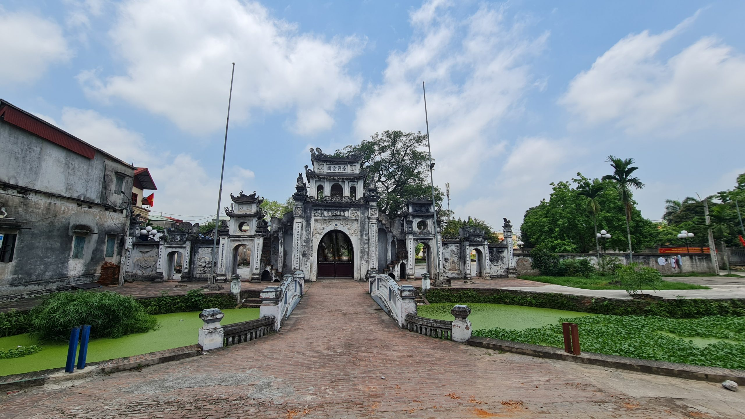 Chùa Bối Khê (Đại Bi Tự – Thanh Oai, Hà Nội) ngôi chùa cổ uy nghi với nhiều chi tiết kiến trúc cách đây 700 năm