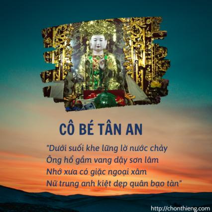 Cover vuông Cô Bé Tân An