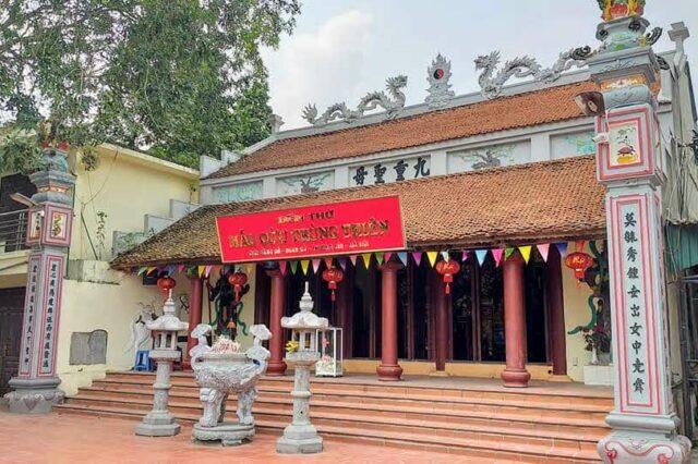 Đền Bằng Sở. Ảnh: Nguyễn Huân