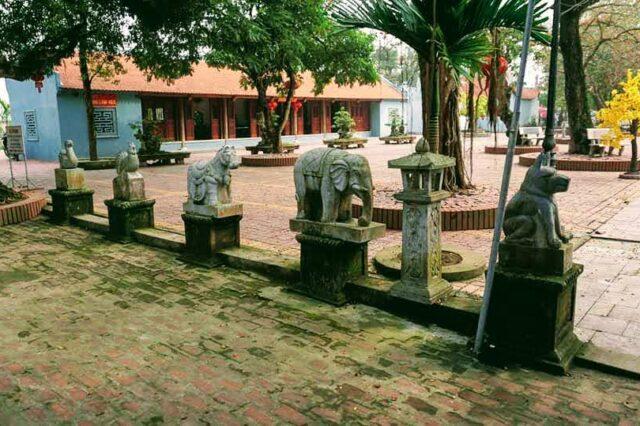 Đền Đậu An. Ảnh Nguyễn Huân