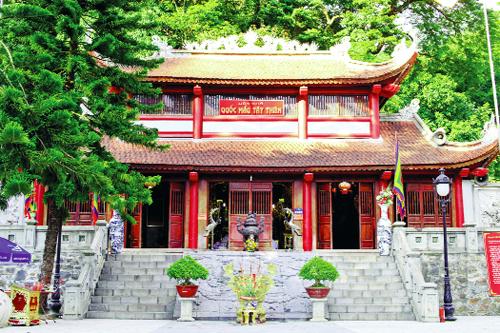 Đền Thượng thờ Quốc Mẫu Tây Thiên