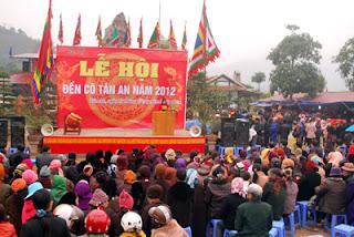 Lễ Hội Đền Cô Tân An