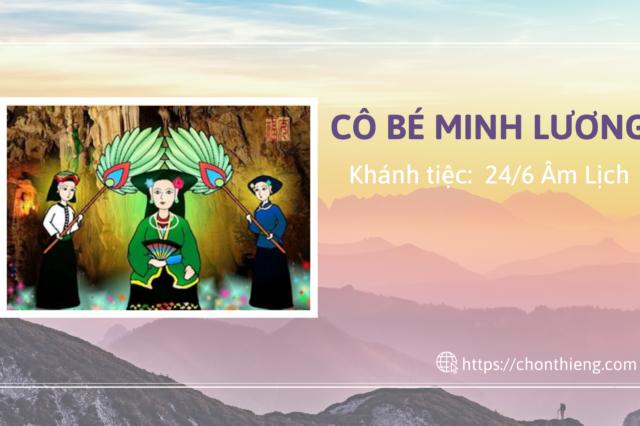 Tiệc Cô Bé Minh Lương (24/6 AL)