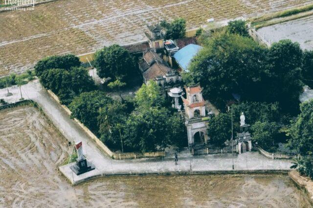 Chùa Linh Quang (Chùa Quần Chử - Trực Ninh, Nam Định)DJI_0883