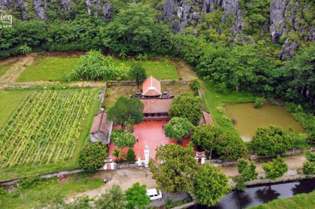 Đền thờ Thái phó Lê Niệm (Yên Mô, Ninh Bình)0007