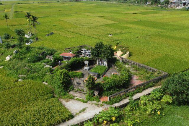 Khu lăng mộ Nhất giáp Tam nguyên Vũ Phạm HàmDJI_0406