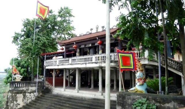 Đền Tam Giang mùa lễ hội